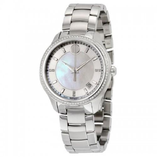 Movado Bellina Women's Stainless Steel Quartz Watch