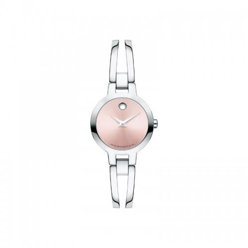Movado Amorosa Women's Pink Dial Watch