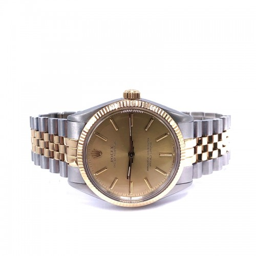 Pre-owned Rolex 34mm Oyster Perpetual with Jubilee Bracelet