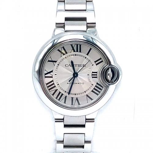 Pre-owned Cartier 33mm Ballon Bleu Watch with Bracelet