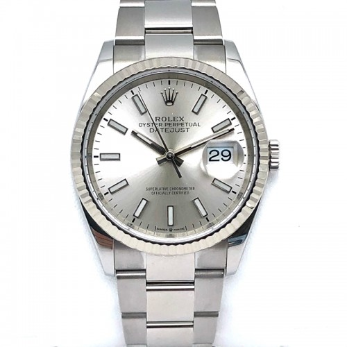 Pre-owned Rolex 36mm Datejust with Bracelet