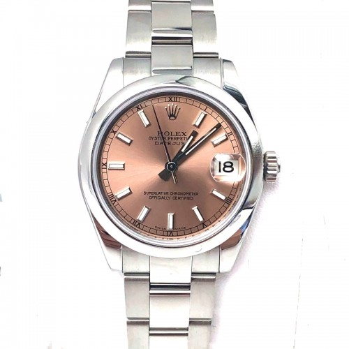 Preowned Rolex Datejust with Oyster Bracelet