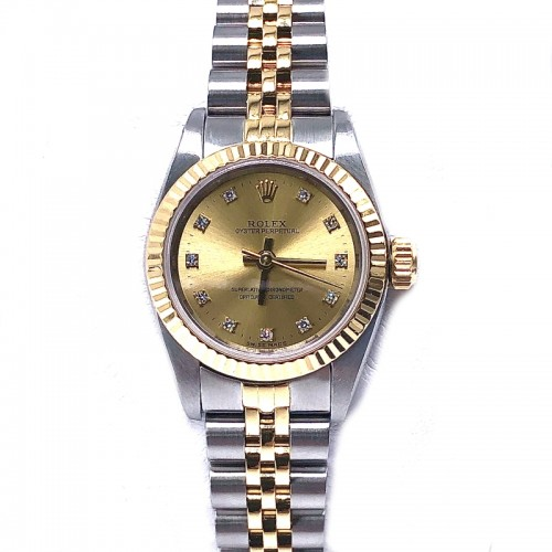 Preowned Rolex No Date with Jubilee Bracelet