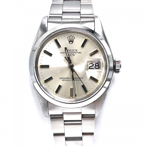 Preowned Rolex Date with Oyster Bracelet