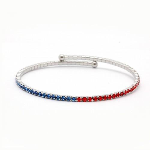 Syracuse University Inspired Flex Bangle Bracelet