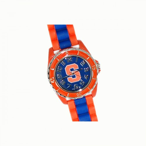 Syracuse University Inspired Orange Bezel Watch