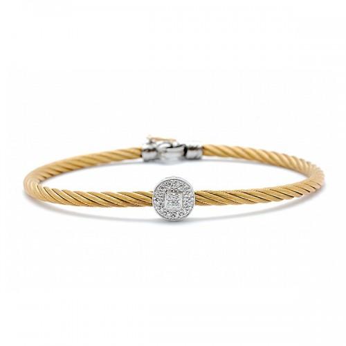 Diamond Cable Bracelet by ALOR