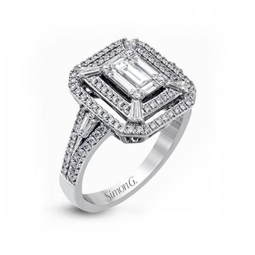 Simon G. Mosaic Diamond Ring