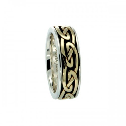 Celtic Eternity Ring by Keith Jack