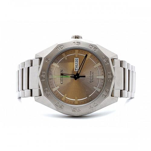 Men's Citizen Eco Drive Super Titanium Watch