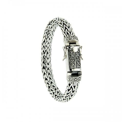 Dragon Weave Eternity Bracelet by Keith Jack