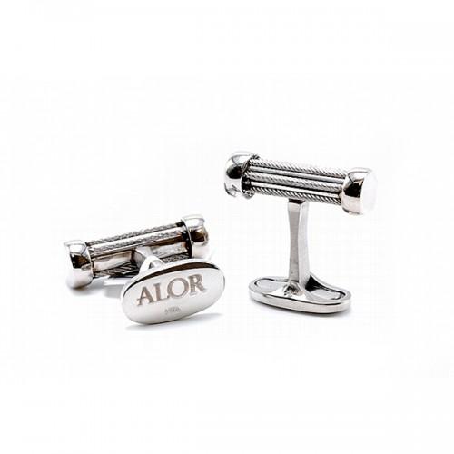 Men's Steel Cufflinks by ALOR