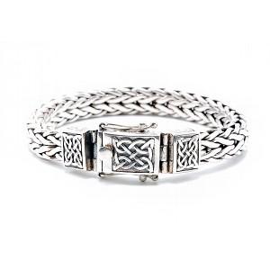 Men's Sterling Silver Bracelet by Keith Jack