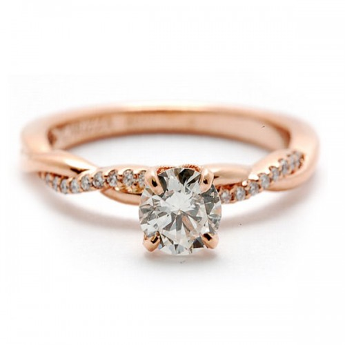 Diamond Semi-Mounting Engagement Ring