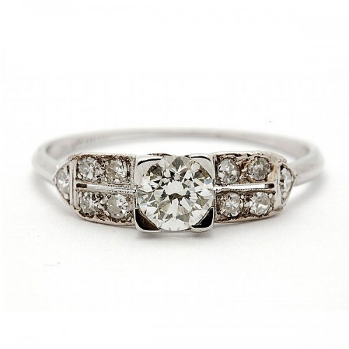 Estate Antique Diamond Ring
