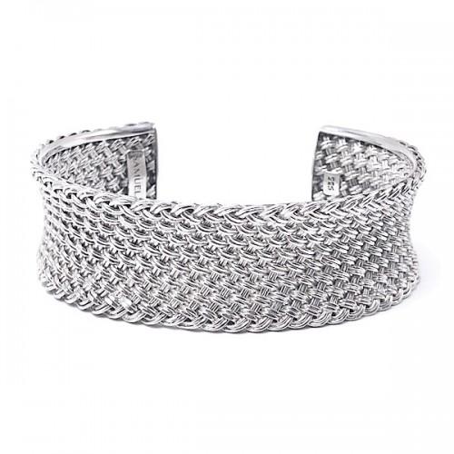 Sterling Silver Cuff Bracelet by Samuel B.