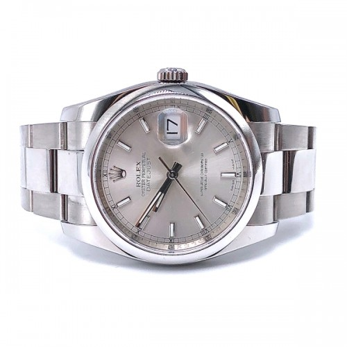 Pre-owned Rolex 36mm Datejust with Oyster Bracelet