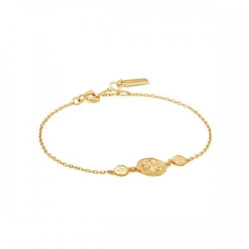 Sterling Silver Nika Bracelet by Ania Haie