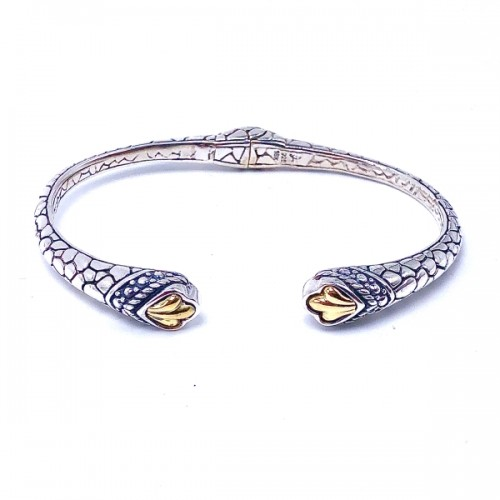 Sterling Silver Bangle Bracelet by Samuel B.