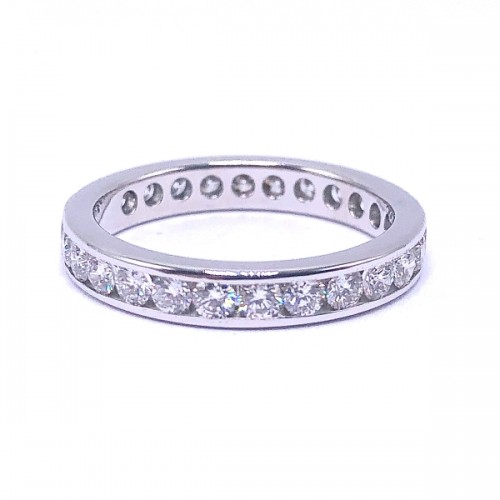 Estate Channel Eternity Ring