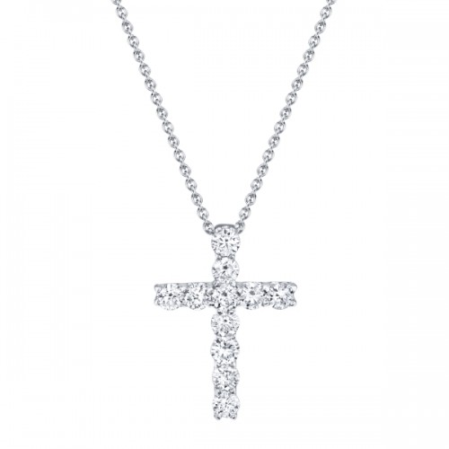 Diamond Cross Pendant by SHY Creation
