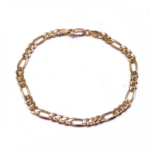 Estate Men's Figaro Bracelet