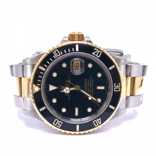 Pre-owned Rolex 40mm Submariner with Oyster Bracelet