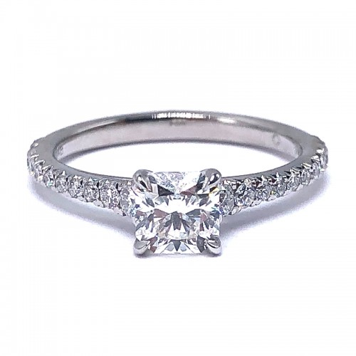 Forevermark Icon™ Square Diamond Engagement Ring