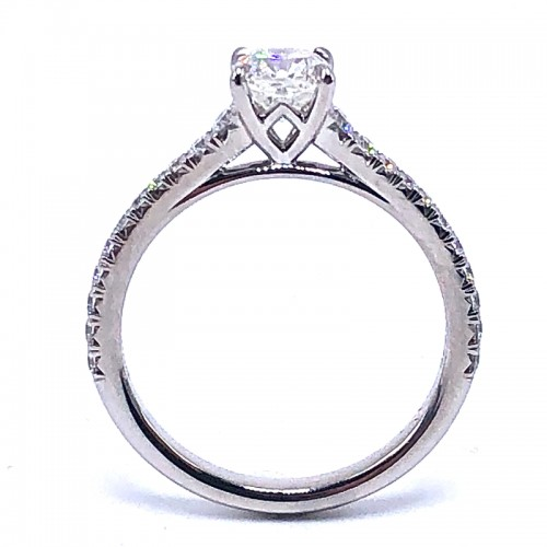 Forevermark Icon Square Diamond Engagement Ring