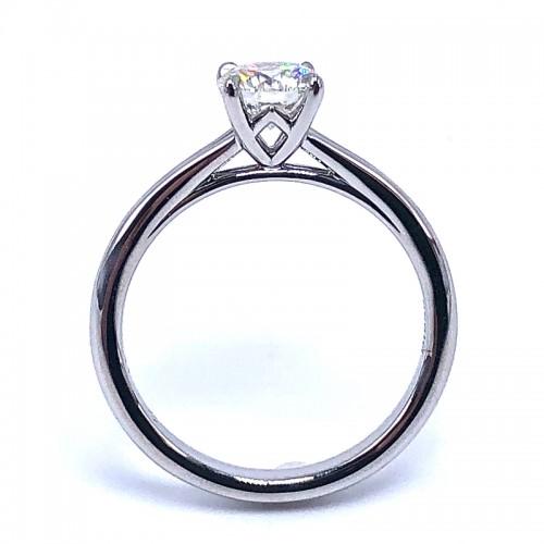 Forevermark Icon Round Diamond Engagement Ring