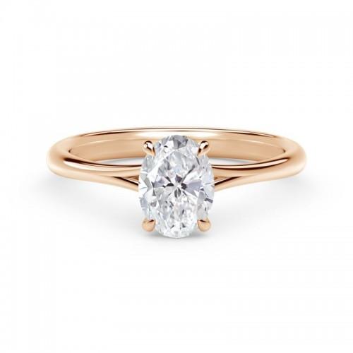 "Forevermark Iconâ""¢ Setting Oval Engagement Ring"
