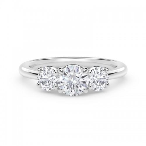 "Forevermark Journeyâ""¢ Three Stone Ring"
