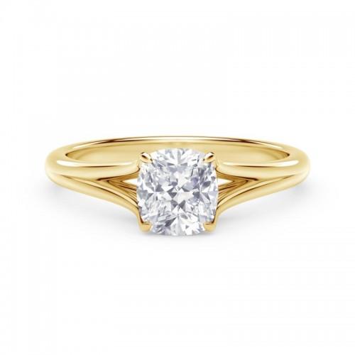 Forevermark Unity™ Cushion Engagement Ring