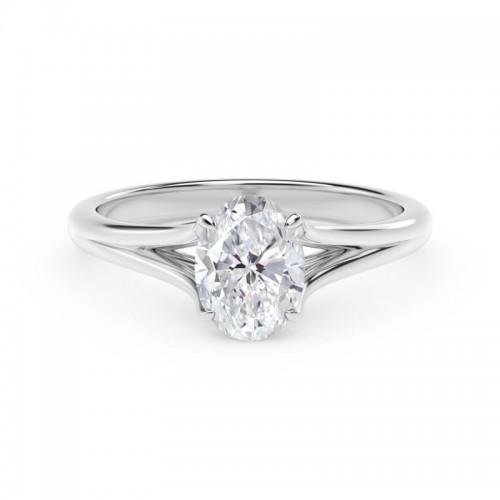 Forevermark Unity™ Oval Engagement Ring