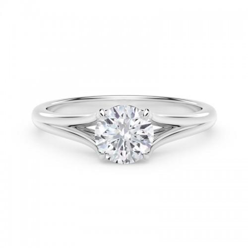 "Forevermark Unityâ""¢ Round Engagement Ring"