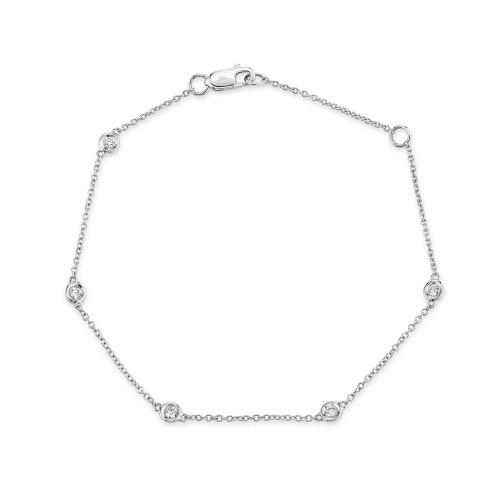 Lady's Diamonds by the Yard Bracelet