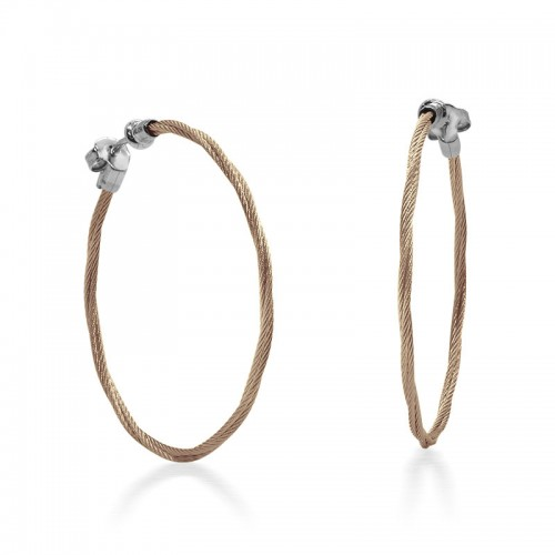 Alor Carnation Cable Earrings