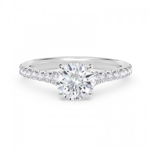 Forevermark Round Diamond Engagement Ring
