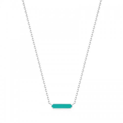 Ania Haie Enamel Bar Necklace