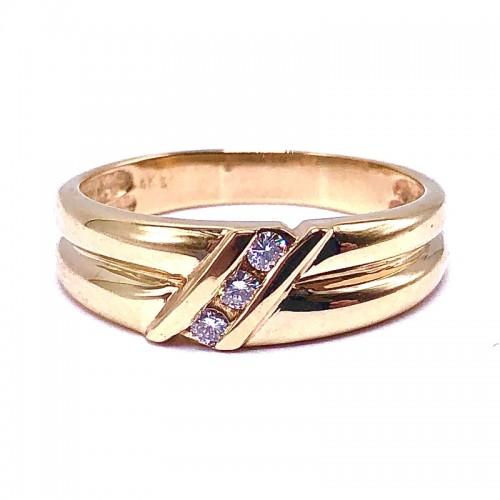 Estate Men's Diamond Ring