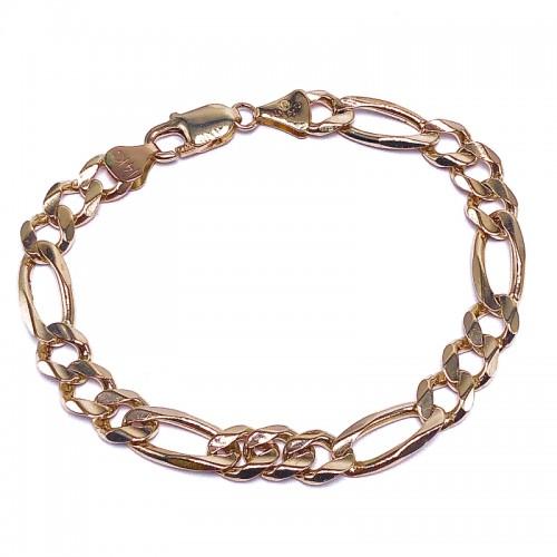 Estate Gold Figaro Bracelet