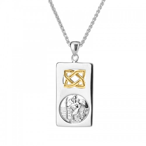 Saint Christopher Pendant by Keith Jack