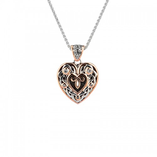 Celtic Heart Pendant by Keith Jack