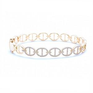 Gucci Link Style Bangle Bracelet