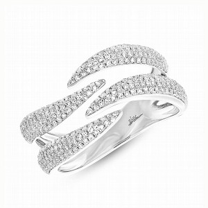 Ladies Diamond Pave Ring