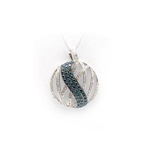 Diamond Circle Pendant