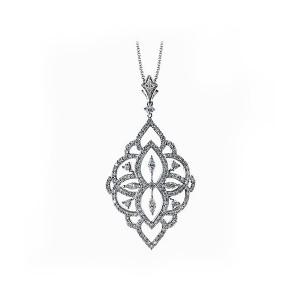 Simon G. Vintage Style Diamond Pendant