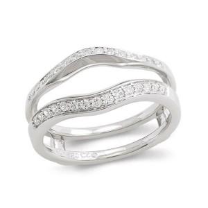 Diamond Wedding Band Insert