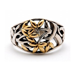 Tree of Life Ring by Keith Jack