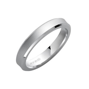 Men's Gold Satin Finish Wedding Band